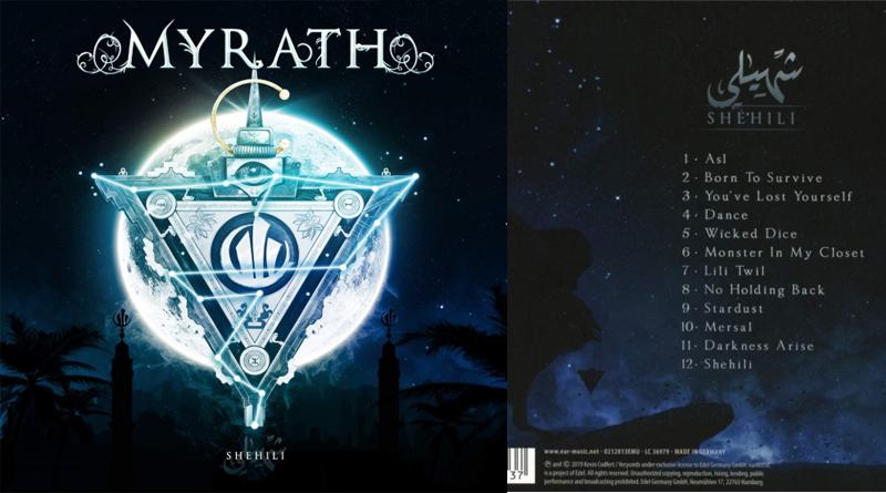 Myrath: Shehili – Album auf Audio-CD, Vinyl-LP und .mp3